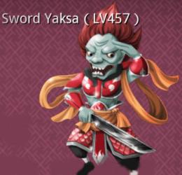Sword Yaksa