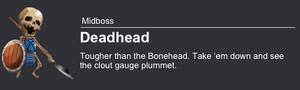 Deadhead boss