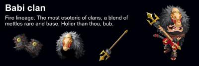 Babi Clan event