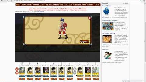 Ninja Saga Clan Tournament Season 16 Reward Jutsu