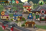 Town (mobile) - Left (Shinobi Matsuri)