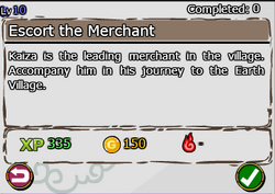 Escort The Merchant