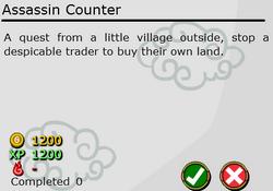 Assassin Counter
