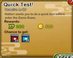 Quick Test!