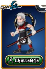 Evil Monk Leader