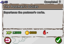 The Postman's Duties