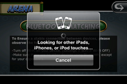 Searching for other iDevices for PvP via bluetooth