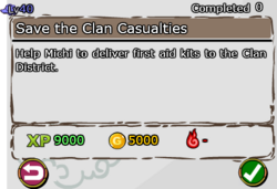 Save the Clan Casualties