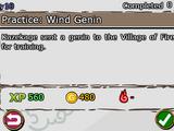 Practice: Wind Genin