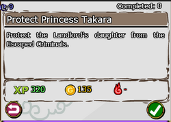 Protect Princess Takara