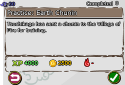 Practice - Earth Chunin