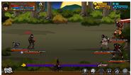 Toxic Village Genin battle