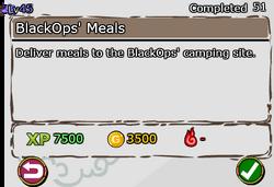 BlackOps' Meals