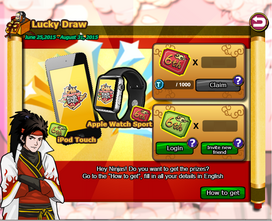 Lucky draw 6th anniversary