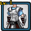 Silver Armor of Olympus (male)