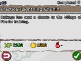 Practice: Lightning Chunin