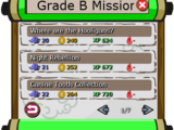 Grade B Missions