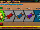 Daily Login Reward