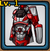 Mech Ninja Set (Red)