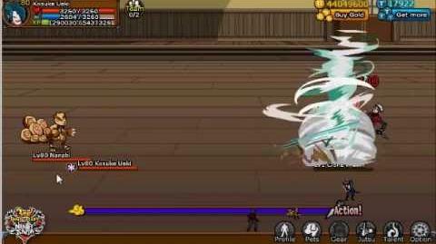Ninja Saga Kinjutsu Kamaitachi Gekitotsu