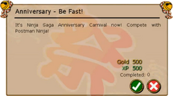 Anniversary - Be Fast!