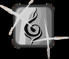 Silver Ninja Emblem