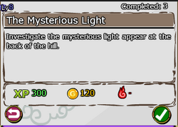 The Mysterious Light