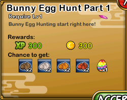 Bunny Egg Hunt Part 1