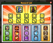3rd Anniversary Event - Reward List