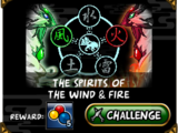 The Spirits of the Wind & Fire