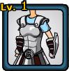 Silver Armor of Olympus (female)