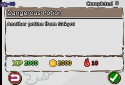 Dangerous Potion