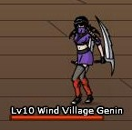 Wind Village Genin - Female