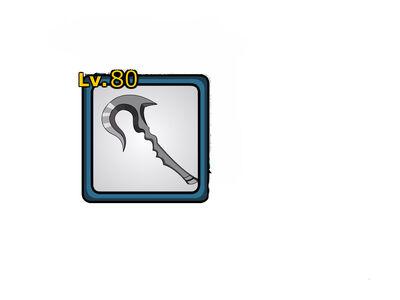 Dark iron hook sickle