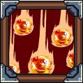 Falling Fire Meteorite