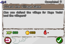 Guard the Village Gate