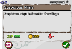 Suspicious Ninja