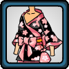 Star Night Yukata with Sakura Obi