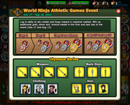 World Ninja Athletic Games Event