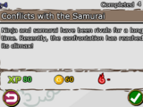 Conflicts with the Samurai