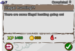 Illegal hunting!