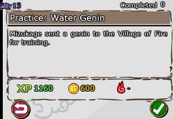 Practice - Water Genin