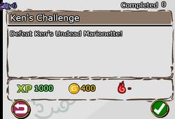 Ken's Challenge