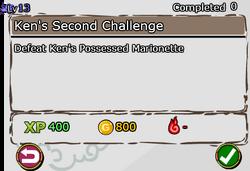 Ken's Second Challenge