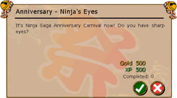 Anniversary - Ninja's Eyes