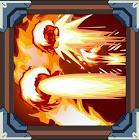 Flame burst fist combo