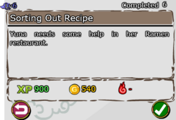 Sorting Out Recipe