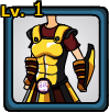 Golden Armor of Olympus (female)