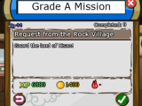 Request from the Rock Village