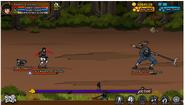 Rain Village Chunin Battle 1